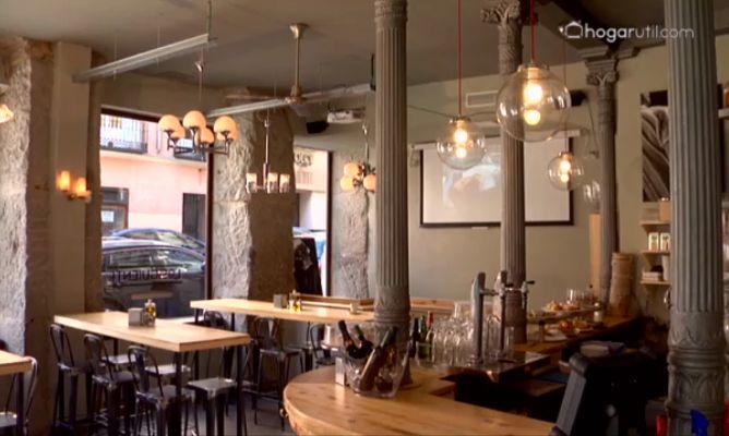 Tendencias interiorismo car cter industrial for Decoracion de bares de tapas