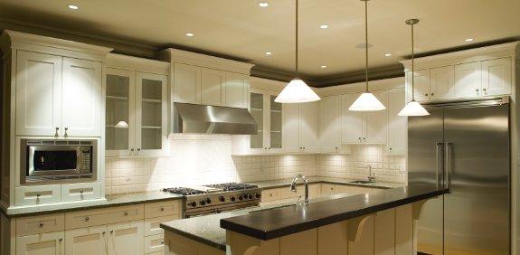 Ideas en dise o interior para la iluminaci n de hogares - Iluminacion para cocinas ...