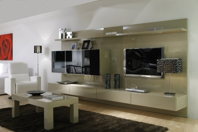 Dise o y decoraci n de salones relajantes y modernos - Modelos de salones modernos ...