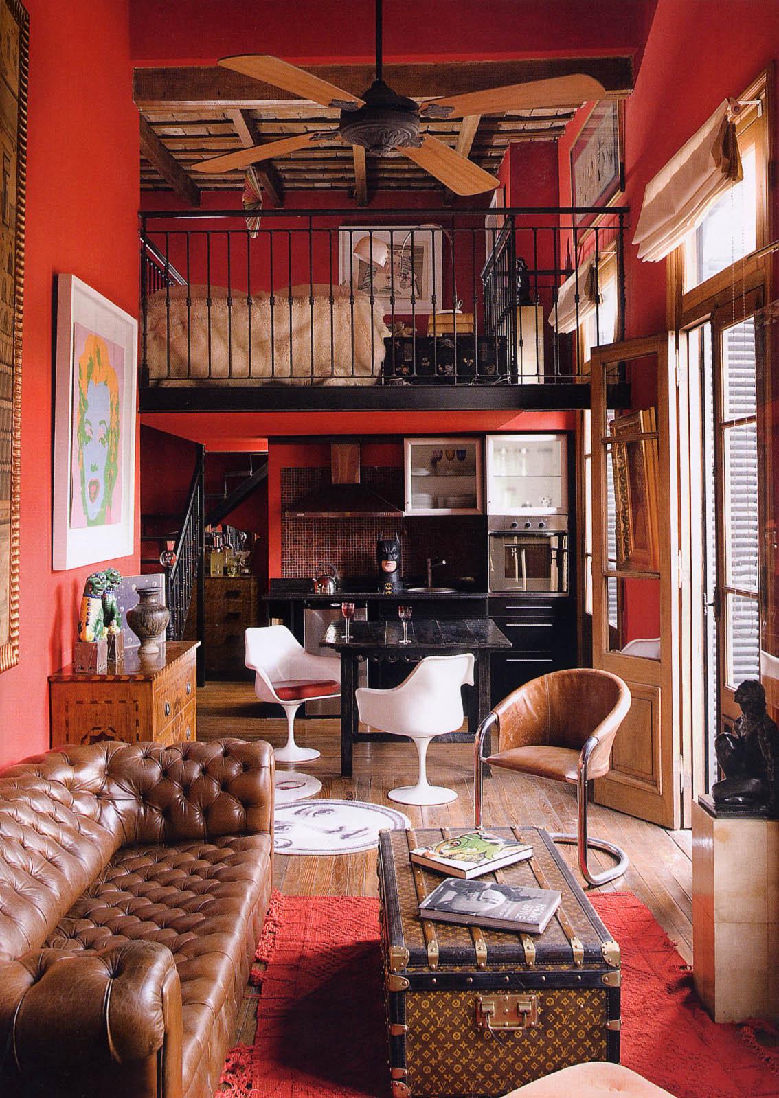Decorar un sal n vintage - Decoracion vintage salon ...