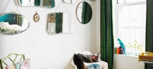 Decorar un salón con estilo vintage