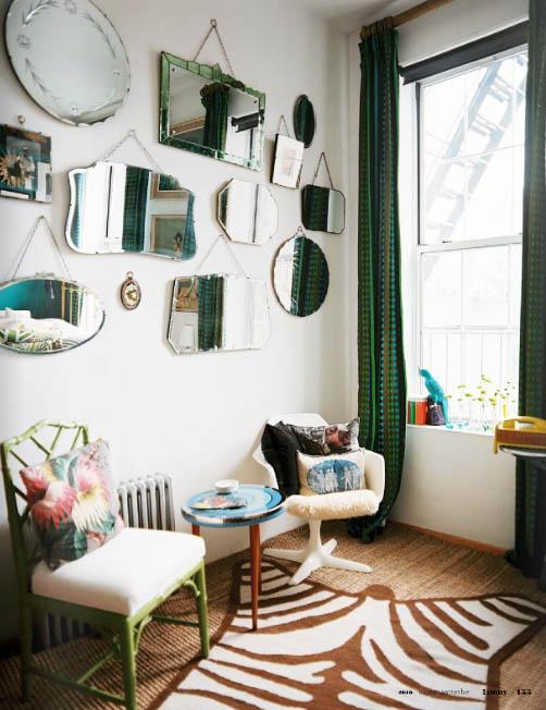 Decoracion de interiores salones vintage - Salon estilo vintage ...