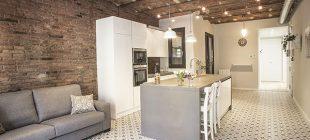 Calle Còrsega: reforma integral y de mobiliario