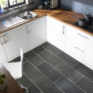 suelo para la cocina